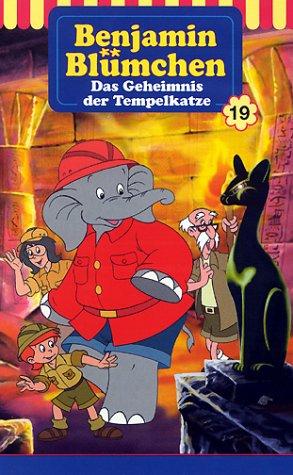Benjamin Blümchen - Das Geheimnis der Tempelkatze [VHS]