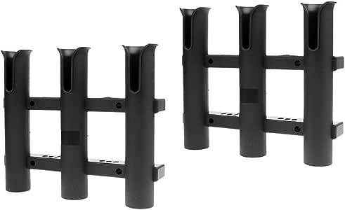 Bootsrutenhalter Angelrutenhalter Rutenständer 2 Stück Kunststoff Rutenhalter
