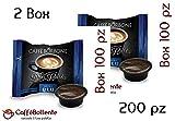 Caffè Borbone - Miscela Blu - Capsule Lavazza A Modo Mio - 200 pz (2x100)