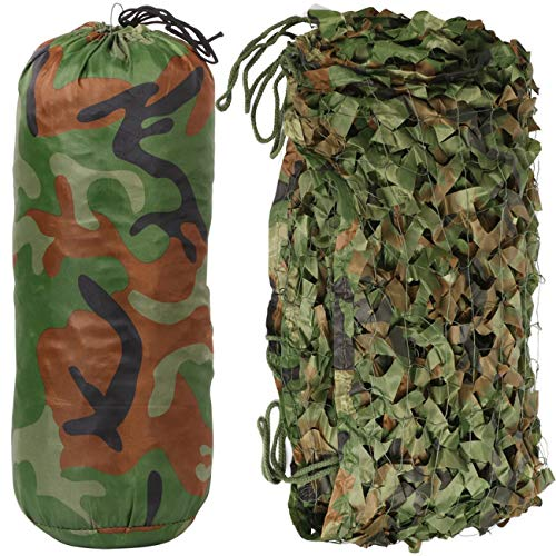 Camouflage Autos Auto Abdeckung 3 * 1,5 mt Woodland Green Desert Jagd Camping Dschungel Blätter Camo Net ()