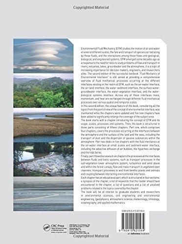 Fluid Mechanics of Environmental Interfaces, Second Edition