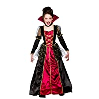 Wicked Costumes Kids Girls Princess Vampira Halloween Fancy Dress