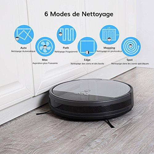 iLife Staubsauger-Roboter V8s, geplante Reinigung, moderne Technologie zur Reinigung von Haustierhaaren, ohne Verheddern - 2