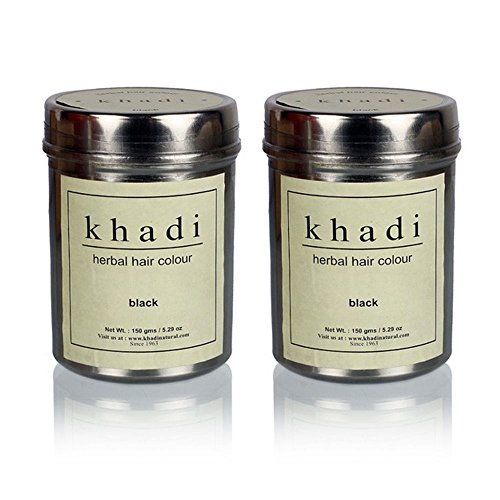 Khadi Herbal Black Henna - 150g (Set of 2)