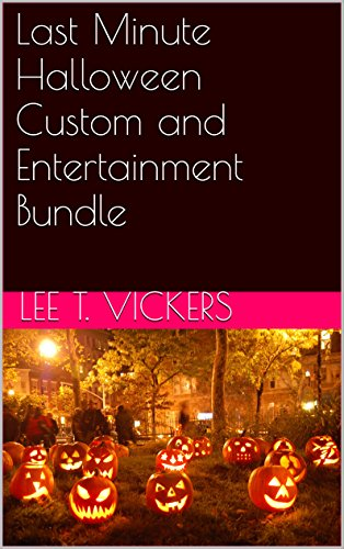 Last Minute Halloween Custom and Entertainment Bundle (English Edition)