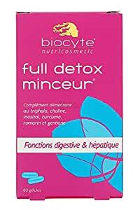 BIOCYTE FULLDETOX - 80 GELULES