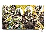 Grün Musik gelb Baroness Artwork Musik Bands Album Covers Alben John Baizley Baroness Musik Ban Maus Pad Computer MOUSEPAD Maße: 23,6x 13,8x 0,2(60x 35x 0,2)