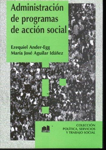 Descargar Libro ADMINISTRACION PROGRAMAS DE ACCION SOCIAL de Ezequiel Ander-Egg