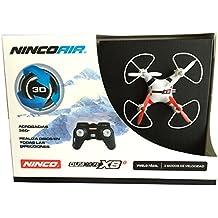 NincoAir Quadrone Nano XS2. Emisora 2,4 Ghz. 3 velocidades