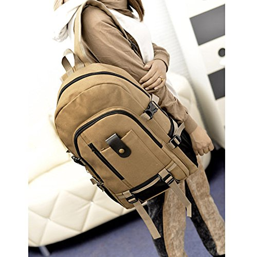Anne, Borsa a zainetto donna nero Brown Dark khaki