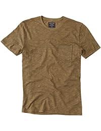 Abercrombie - Homme - Print Crew Tee T-Shirt Top - Manche Courte