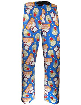 Mens Chain Family Guy Loungepants in XXL
