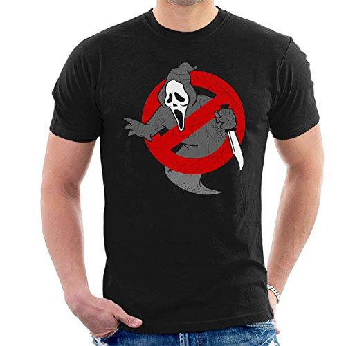Ghostbusters Scream Mashup Men's T-Shirt