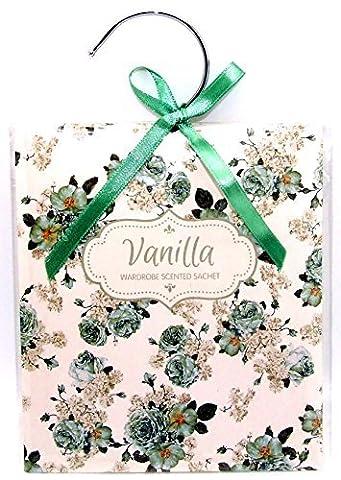 Scented Wardrobe Hanger - Scented Sachet in - Vanilla