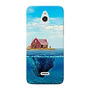 Mobile Back Cover For InFocus M2 (Printed Designer Case)