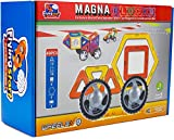 #10: FLYING START Magna Blocks 40 pcs Wheels Magnetic Building Blocks - Learning and Educational Construction Toy for Kids ages 3 (Multi colour)