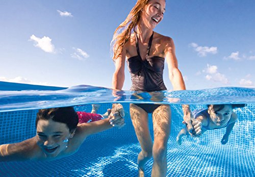 Intex Family Schwimmbecken, blau, 300 x 200 x 75 cm - 5