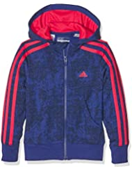 Yg adidas Ess 3S Hd-Fz Sweat-shirt-Fille