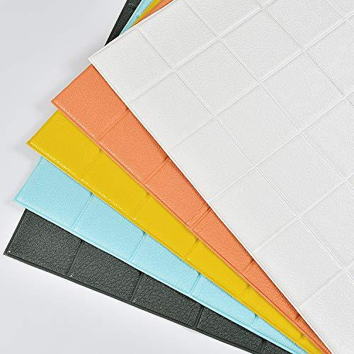 Selbstklebende Wandaufkleber Wasserdicht Anti-Kollision Hintergrund Wand Papier 3D Stereo Wandaufkleber 70 * 70 *