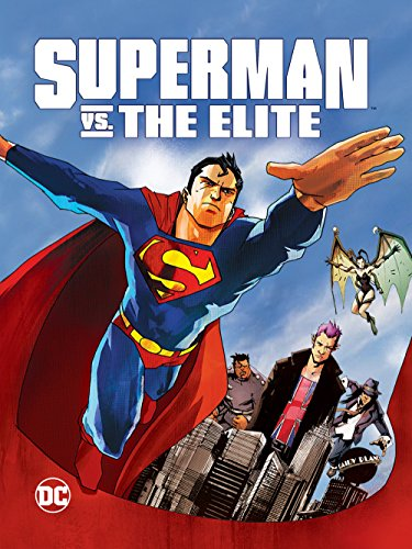 Superman vs. The Elite Cover