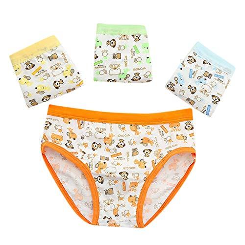 sous-vêtements pour Garçon 2-10 Ans,Mounter 2019 Short de sous-vêtements Cartoon Triangle Enfant Chiot