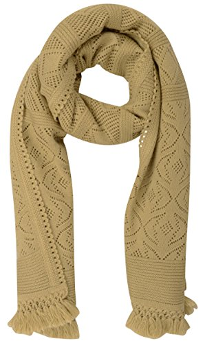Supreme Women's Wool Stole (sh65_Beige_L x W: 90 inches 27 inches)