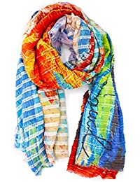 Amazon.fr   Desigual - Pashminas   Echarpes et foulards   Vêtements 350adb3b0c9