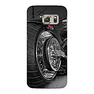 Stylish Wonder Cruise Multicolor Back Case Cover for Samsung Galaxy S6 Edge