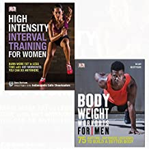 Bodyweight workouts for men and high-intensity interval training for women 2 books collection set