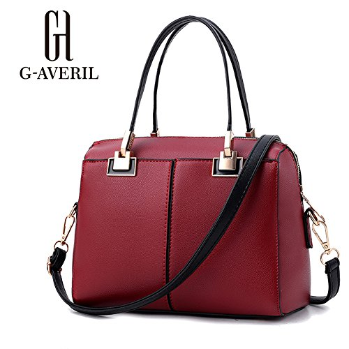 G-AVERIL, Borsa a mano donna Wine red Wine red