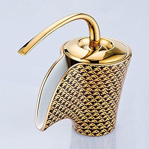 Modylee European - Style in ceramica da cucina con lavello del bagno caldo e freddo Kaiping rubinetto rubinetto