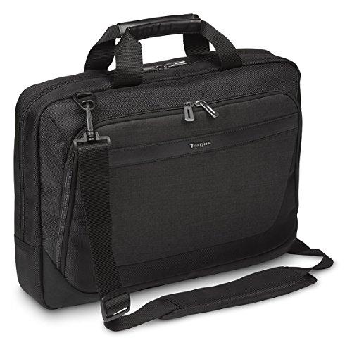 "Besten Laptop Messenger-taschen (Targus CitySmart Slimline Laptop Satchel / Briefcase / Messenger Bag Best for Urban Commuters and Business Travellers, fits laptops up to 15.6"" – Black/Grey)"