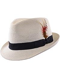 Amazon.it  Cappelli Fedora  Abbigliamento 3dbe5601bd41