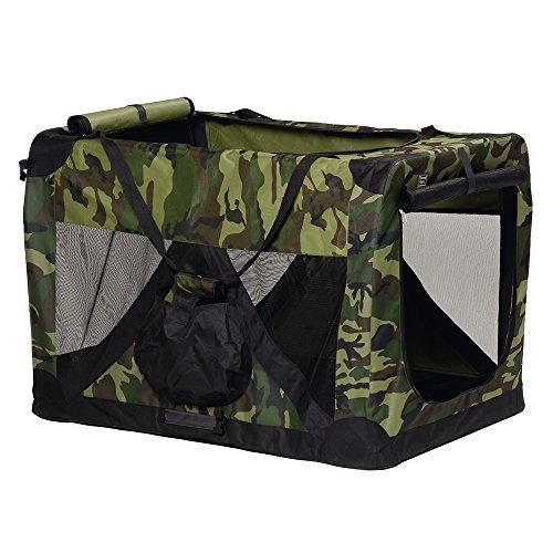 Beeztees 715148 Nylon Transporttasche, 70 x 52 x 52 cm, camouflage