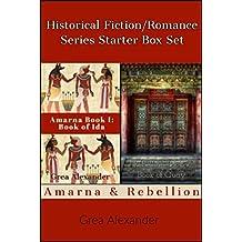 Historical Fiction/Romance Series Starter Box Set: Amarna & Rebellion (Series Starters Book 2) (English Edition)