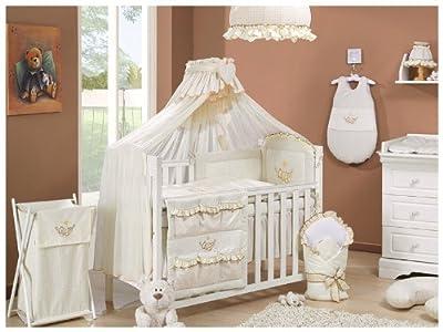 Royal recién nacido saco de dormir con volante en algodón orgánico