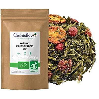 Thé vert Fruits des Bois Bio 200g