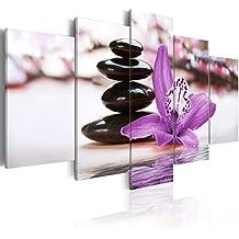 murando - Cuadro en Lienzo 200x100 cm - Impresion en calidad fotografica - Cuadro en lienzo tejido-no tejido - flores 030110-29