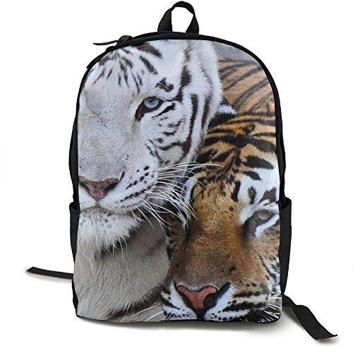 HOJJP Schultasche Tiger Laptop Backpack School Bag Shoulder Bag Travel ypack Handbag