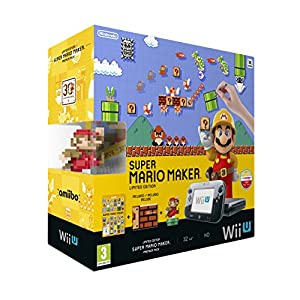 NINTENDO – Nintendo Wii U Hw + Mario Maker+ Amiibo – 2301699