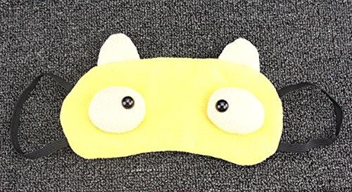 &zhou visière coton confortable décompression aide sommeil respirant 21 * 9cm
