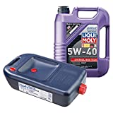 LIQUI MOLY Synthöl High Tech Motoröl 5W-40 5L 1307 + Ölwechsel Kanister 7055