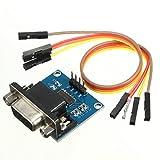 RS232 auf TTL Konverter Converter Modul + Kabel COM serieller Buchse DB9 MAX3232