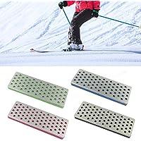 Hearthrousy 4PCS Snowboard Ski Edge Bevel Tuning Kit Sander, Kit de Cuidado de Bordes Resistente al Desgaste, asegurando un Acabado de Borde Muy Suave y Profesional Usefulness Handsome