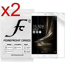 Forefront Cases® 2 x Protector De Pantalla para ASUS ZenPad 3S 10 Z500m Protector de Pantalla Defensa Membrana [PAQUETE DE 2]