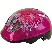 Ventura Flower - Casco de ciclismo para niños, color rosa, 52-57 cm