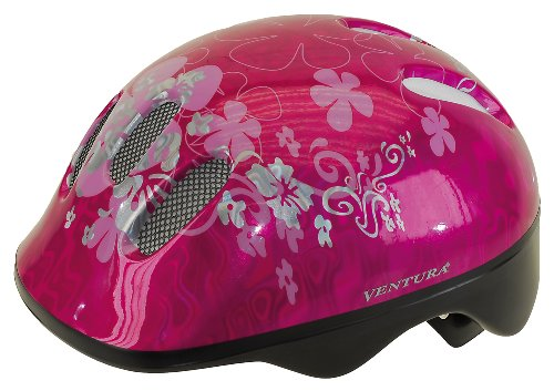 Ventura Sea World Casco da bambino 50-57 cm, Rosa, 50 - 57 cm