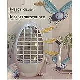 Mückenstecker Mückenschutz elektrisch mit 3 LED's inkl. Reinigungsbürste Insektenschutz Nachtlicht Anti Mücken