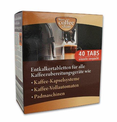 30 Entkalkertabs für z.B. BOSCH Kaffeemaschinen
