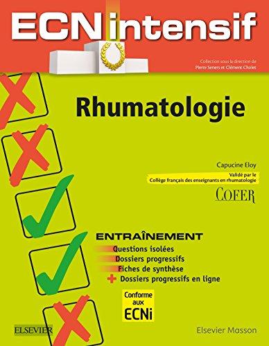 Rhumatologie: Dossiers progressifs et questions isoles corrigs